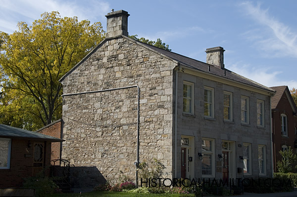 Marble Block Home : King street west at historical hamilton
