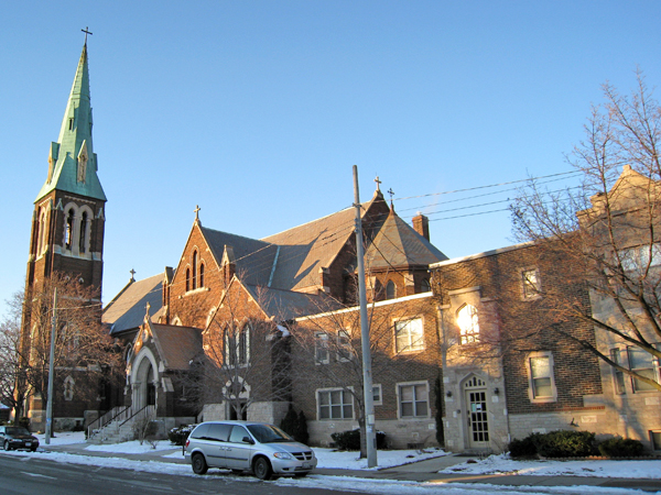 St Josephs Catholic Church overview
