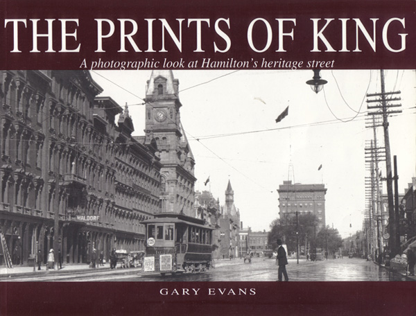 Gary Evans, The Prints of King (Image Credit: Historical Hamilton)